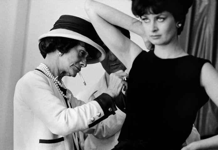 Coco Chanel fotografiada por Douglas Kirkland