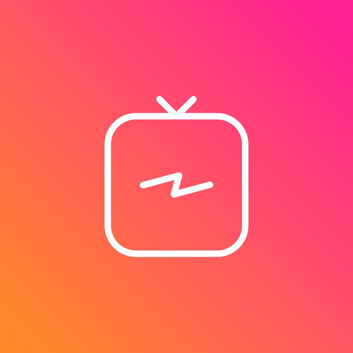 Logo de la App IGTV