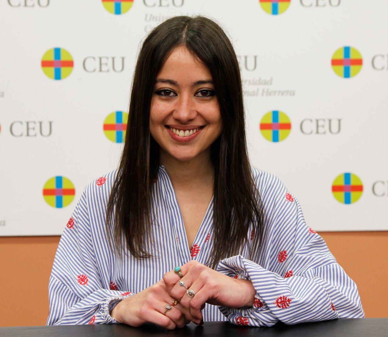Tatiana Sirera es antigua alumna de la Universidad CEU UCH