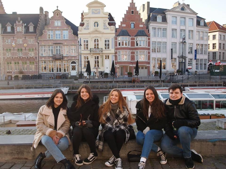 Erasmus+ students in Belgium