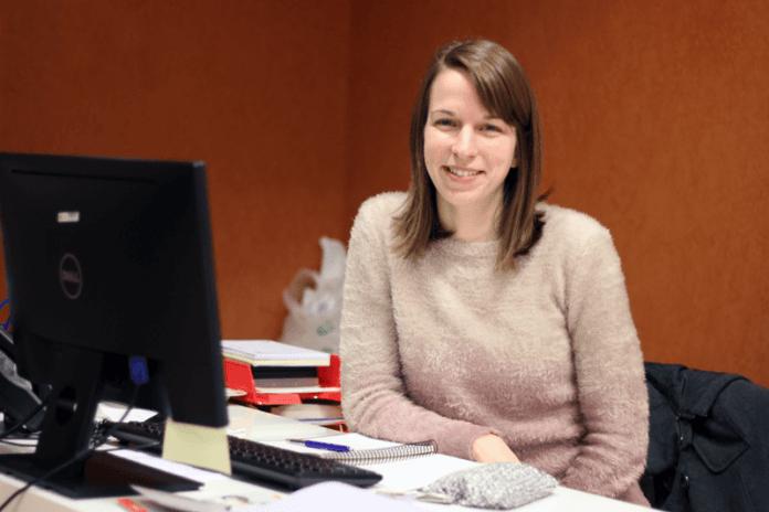 Caroline came from Belgium to do her internship at CEU UCH: