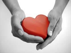 Su corazón está en tus manos