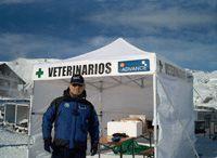 Jaime Martínez, jefe del equipo veterinario Pirena-Advance