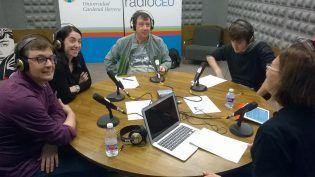 David Viana, Laura Selva, Marc y María Catalá en Mundovet