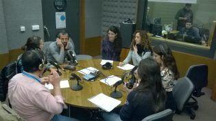El Dr. Juan Cuervo, Aurora Guyader, Isabelle Beuret, Alessandra Salerno y Dafni Zago en Mundovet