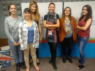 Geraldine Lefeuvre, Laura Chevalier, Maeva Bouzat, Marie Geindreau, Morgane Aubert y Mila Benito en Mundovet!
