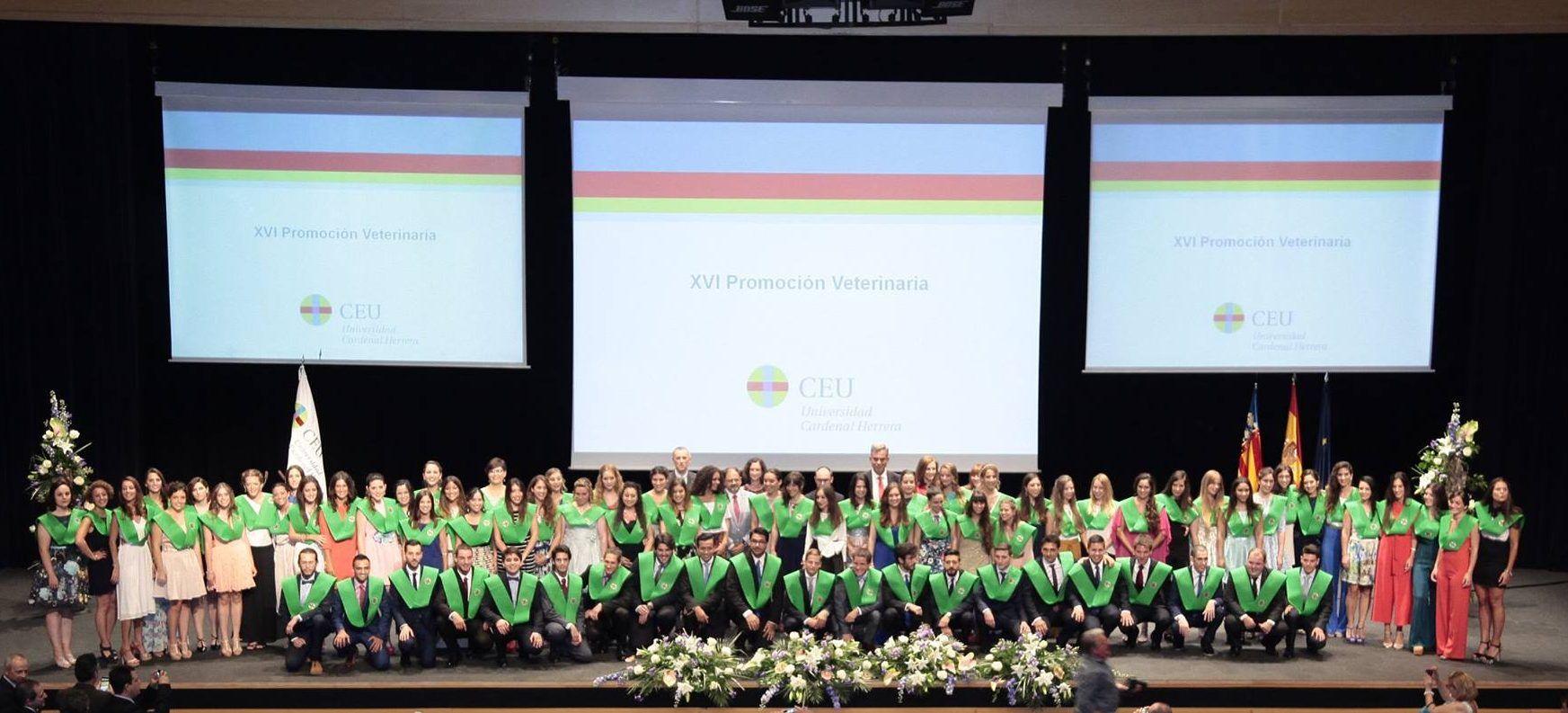XVI Promoción Graduados Veterinaria