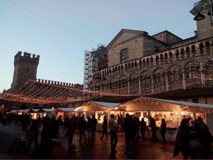 El mercatino di Natale de Ferrara
