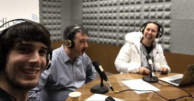 Endika García. Ángel García y Mila Benito, equipo MundoVet