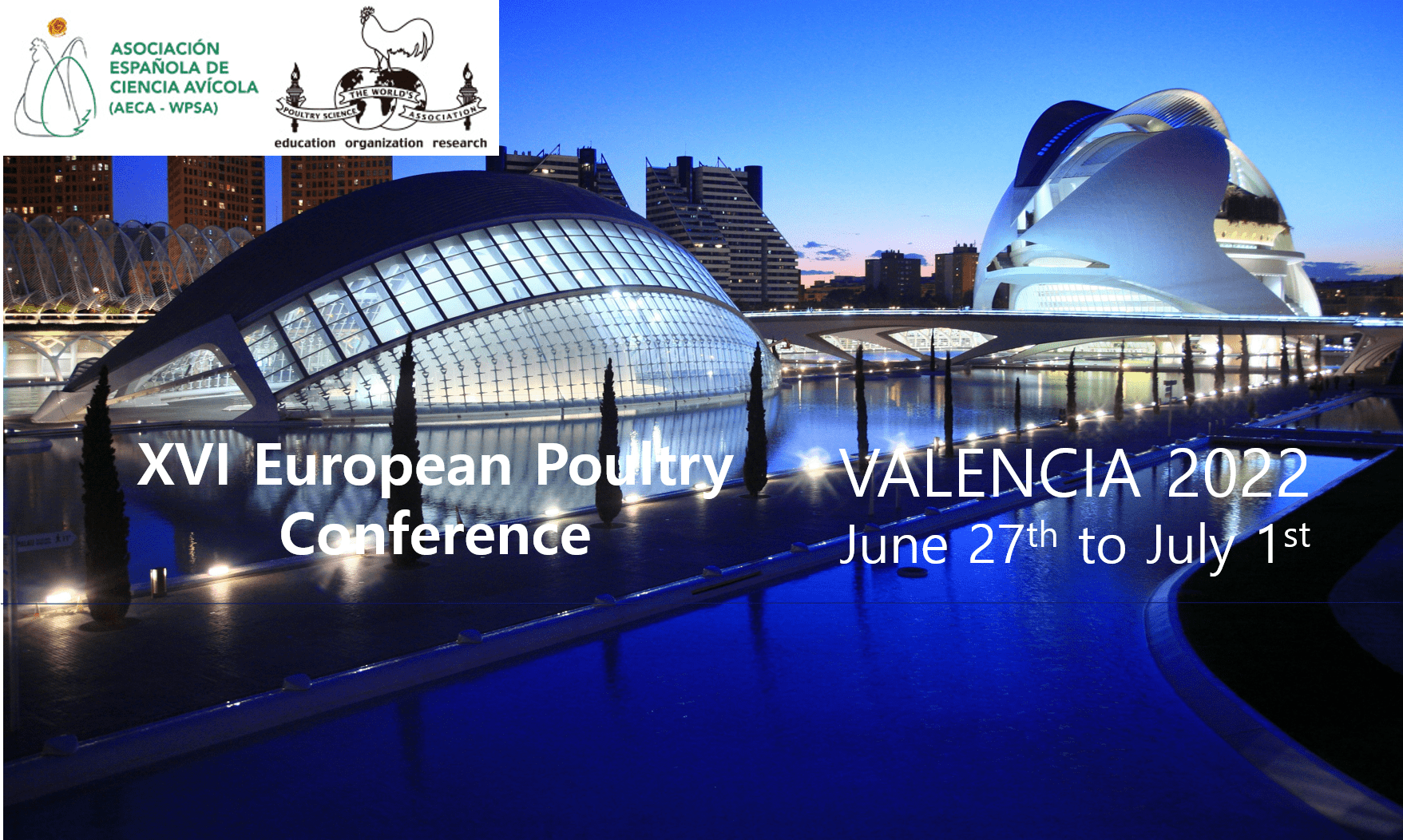 XVI EUROPEAN POULTRY CONFERENCE-VALENCIA 2022