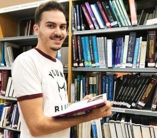 Francisco Javier de Juan, estudiante de Veterinaria de la Universidad CEU UCH