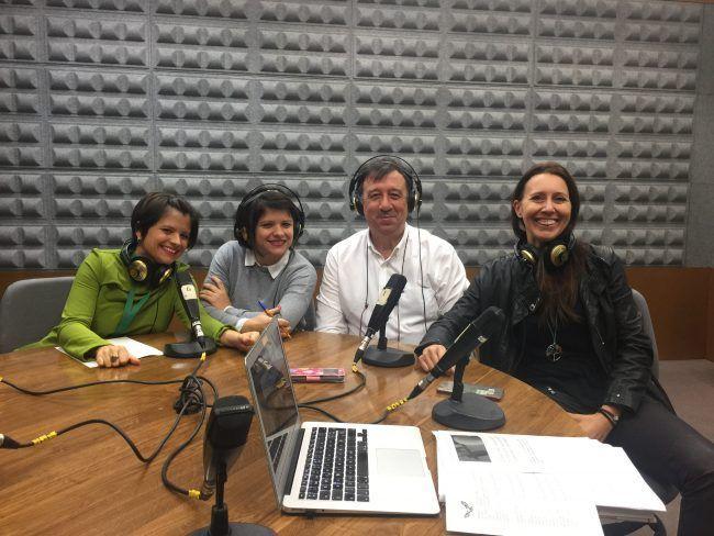 Equipo MundoVet 18-19: Empar García, Mireia García, Ángel García y Mila Benito