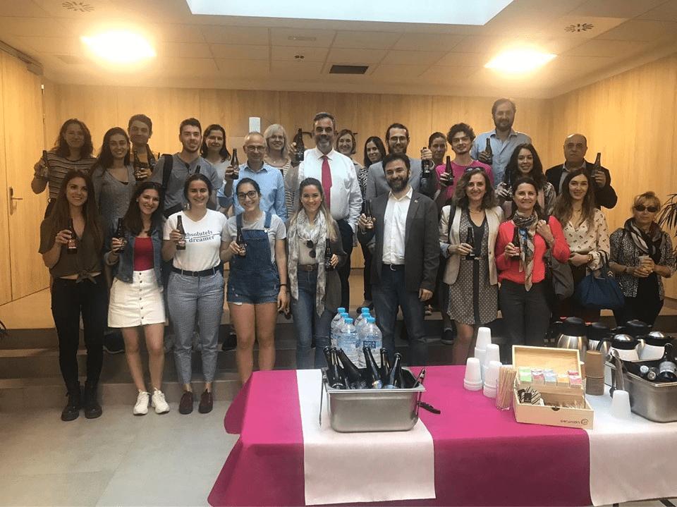 Profesores y alumnos del máster En Seguridad Alimentaria UCH CEU