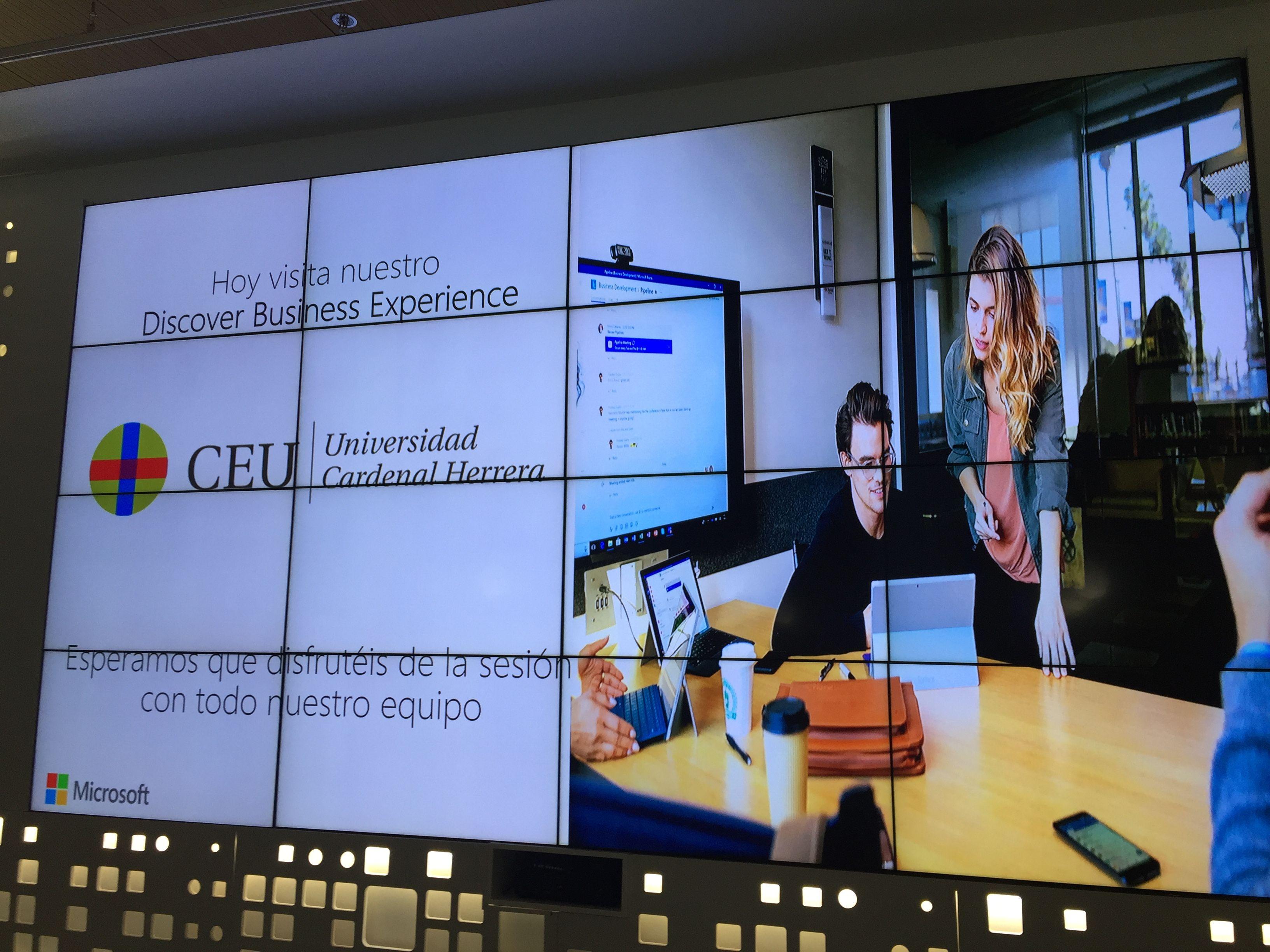 Nuestra visita a las instalaciones de #MicrosoftEduLab