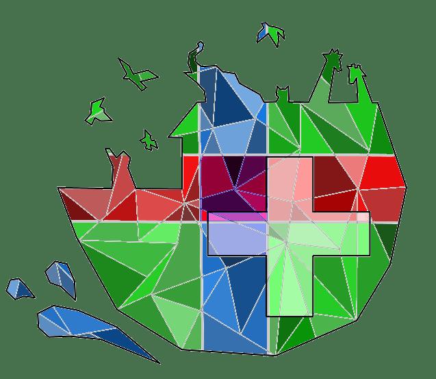 Logo diseñado por Maëla Prudhomme Y Charlotte Rondeau, alumnas de primer curso de Veterinaria