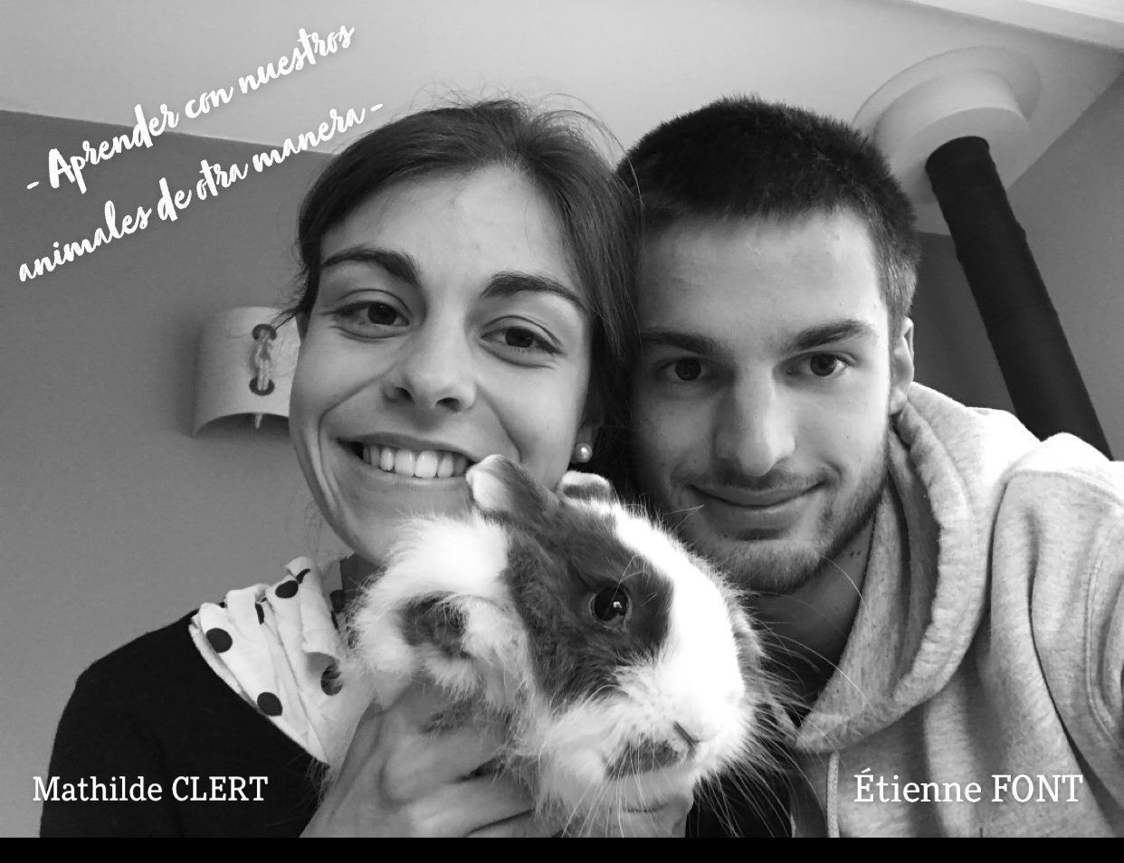 SharingDogs: Mathilde Clert y Étienne Font alumnos ICV CEU UCH