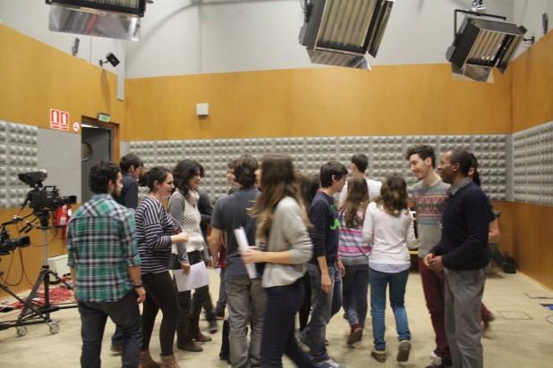 Sesión de trabajo CEU Teatro