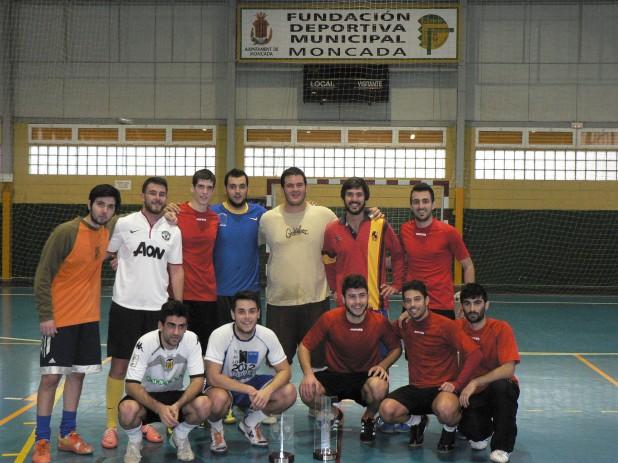 EQUIPOS FINALISTAS DEL CURSO 2013-14