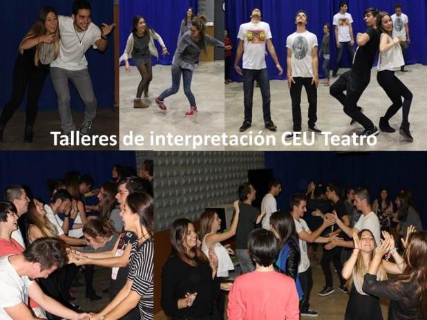 Talleres de interpretación CEU Teatro curso 2014 2015