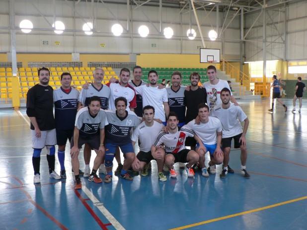Deportividad entre los equipos PAS PDI y 3º FARMACIA